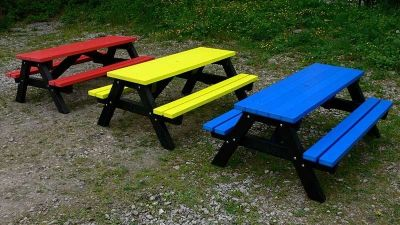 West Coloured Children's Picnic Table