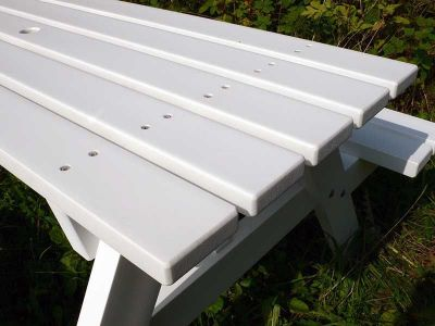 West Coloured Recycled Plastic Picnic Table 1