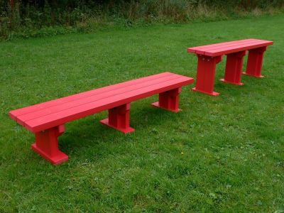 West Junior Coloured Bench Without Back