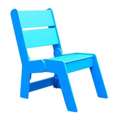 West Recycled Plastic Outdoor Armchair