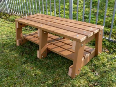 West Sports Recycled Bench