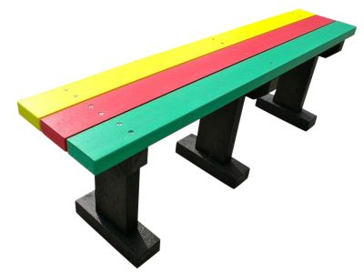 West T Bench Without Backs