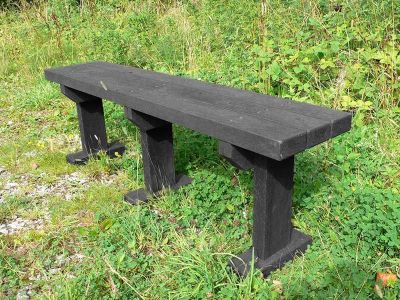 West T Bench Without Backs 1