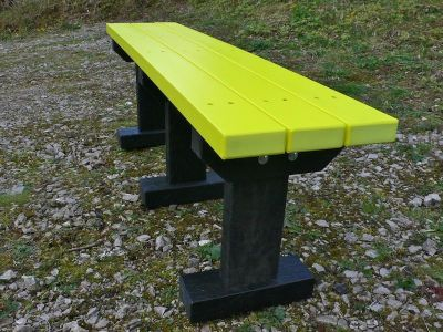 West T Bench Without Backs 2