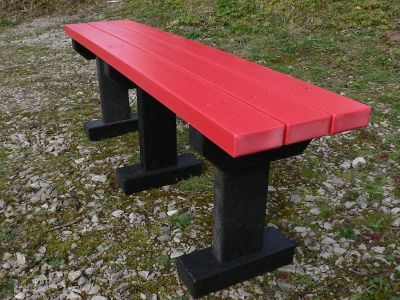 West T Bench Without Backs 3