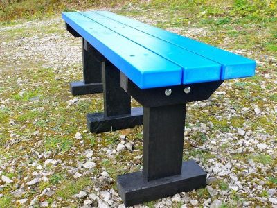 West T Bench Without Backs 4