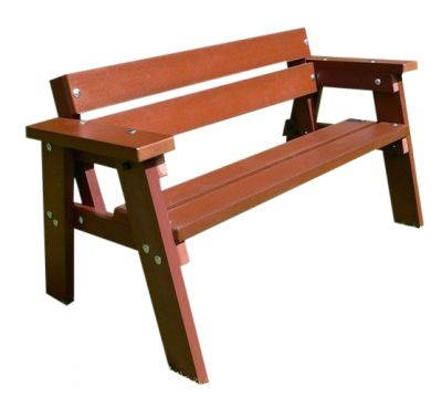 West Winsdor Junior Recycled Park Benches