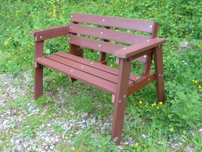 West Winsdor Recycled Benches 1