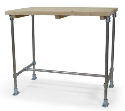 Scaffold Rectangular Ber Height Outdoor Table