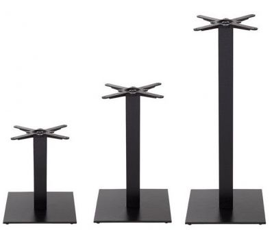 Syked Medium Black Square Table Bases