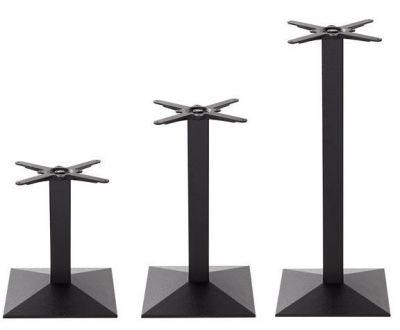 Sykes Black Pyramid Table Bases