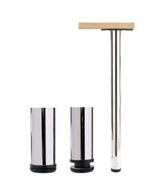Vicor Set Of Chrome Table Legs 1