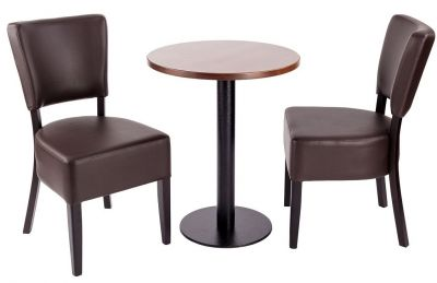 Rosie V4 Dining Set For Two With A Round Table A