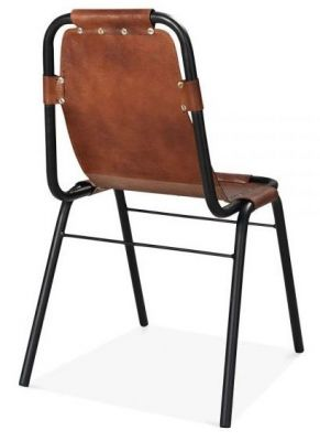 Dining Chair Distressed Leather
