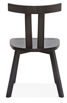 Dark Grey Modern Cafe Chair