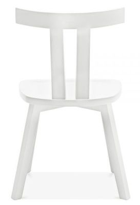 Designer White Modern Simple Dining Chair