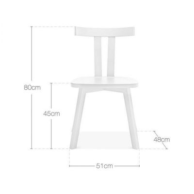 Designer Dining Chair White
