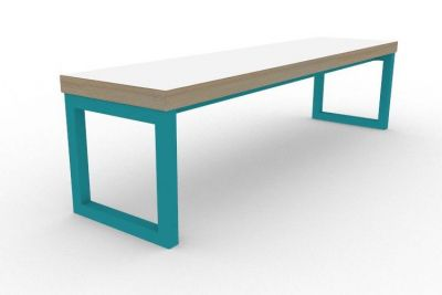 Benny Bench Turquoise
