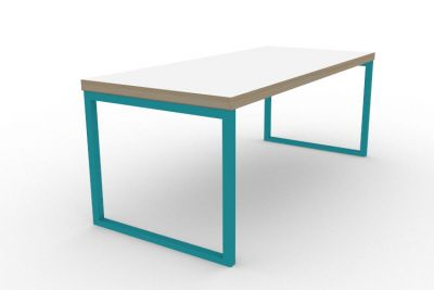 Benny Bench Table Turquoise
