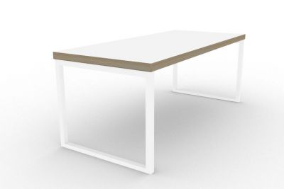Benny Bench Table White