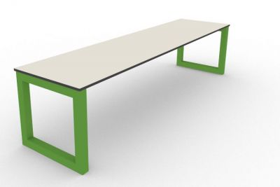 Benny Bench Outdoors Green