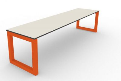 Benny Bench Outdoors Orange