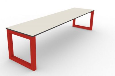 Benny Bench Outdoors Red