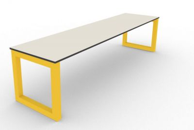 Benny Bench Outdoors Yellow