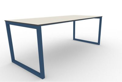 Benny Bench Table Outdoors Blue