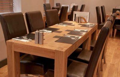 Veneer Wood Finish Table Oak