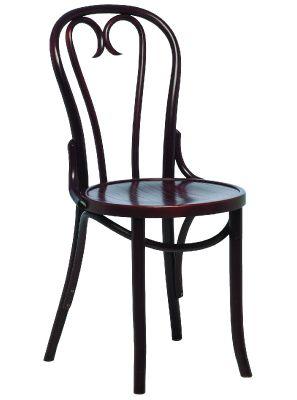 Traditional Veneer Pub Style Walnut Dining Chair