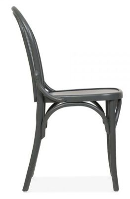 Bentwood Design Bistro Chair Wood Beech Grey