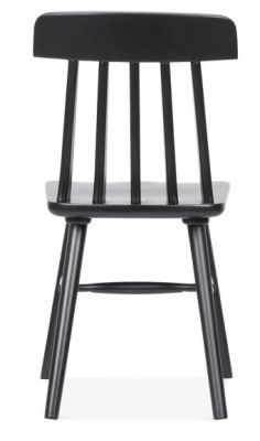 Classic Design Pub Style Dining Chair Black
