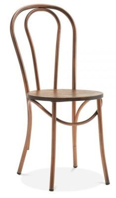 Thonet Vienna Bentwood Dining Chair Copper