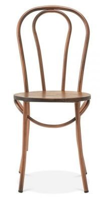 Chic Copper Restaurant Dining Chair