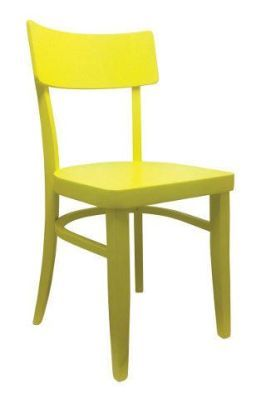 Bright Yellow Dining Chair Pub