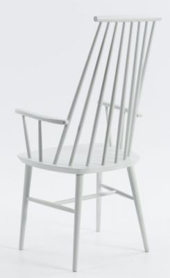 Spindle Classic Design White Pub Dining Chair