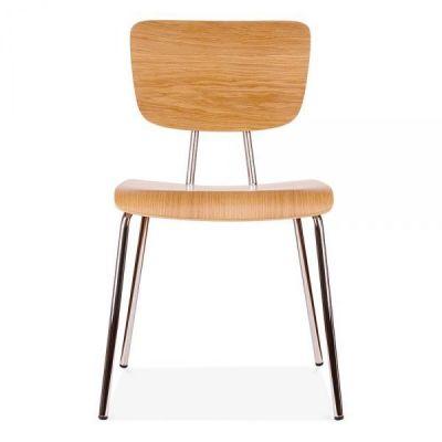 Designer Wood Cafe Chair Leola