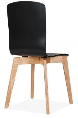Wood Dining Chair Montreal Black