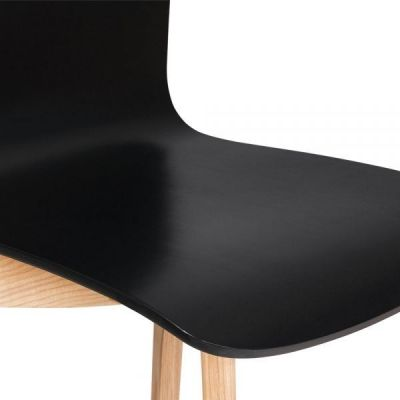 Black Finish Wood Dining Chair Montreal