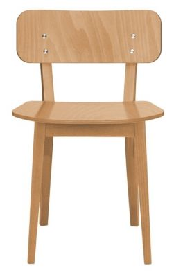 Dark Oak Restaurant Dining Chair Leonora
