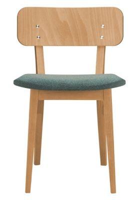 Designer Wooden Seating Upholstered