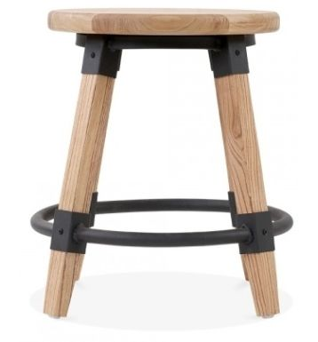 Low Stool Tyrian Natural