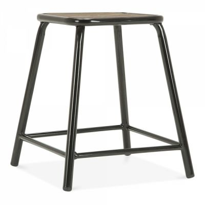 Taplow Low Stool Rustic Retro