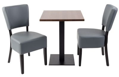 Rosie V4 Two Person Dining Set With A Table With A Square Top 2
