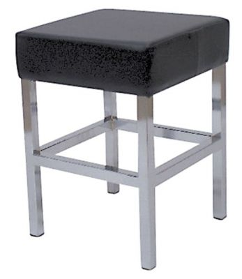 Dimensions Chrome Designer Low Stool