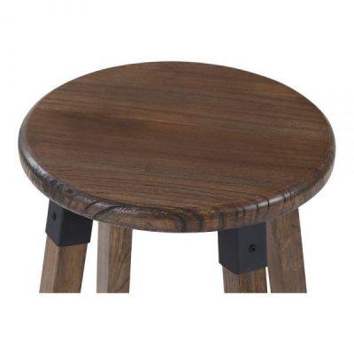 Designer Bar Stool Tyrion Wood Seat