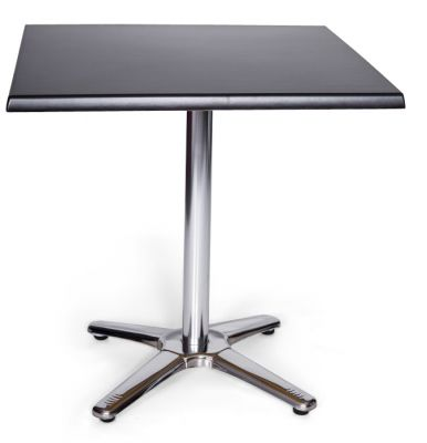 Moby Outdoor Square Table Black