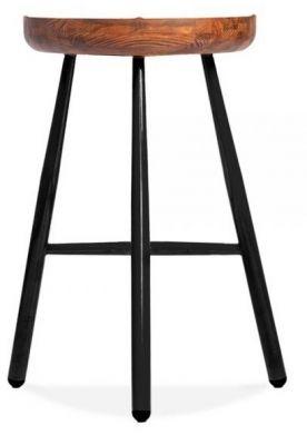 Tycho Bar Stool Black Frame