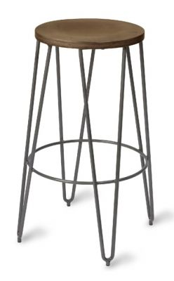 Isabella High Stool Industrial
